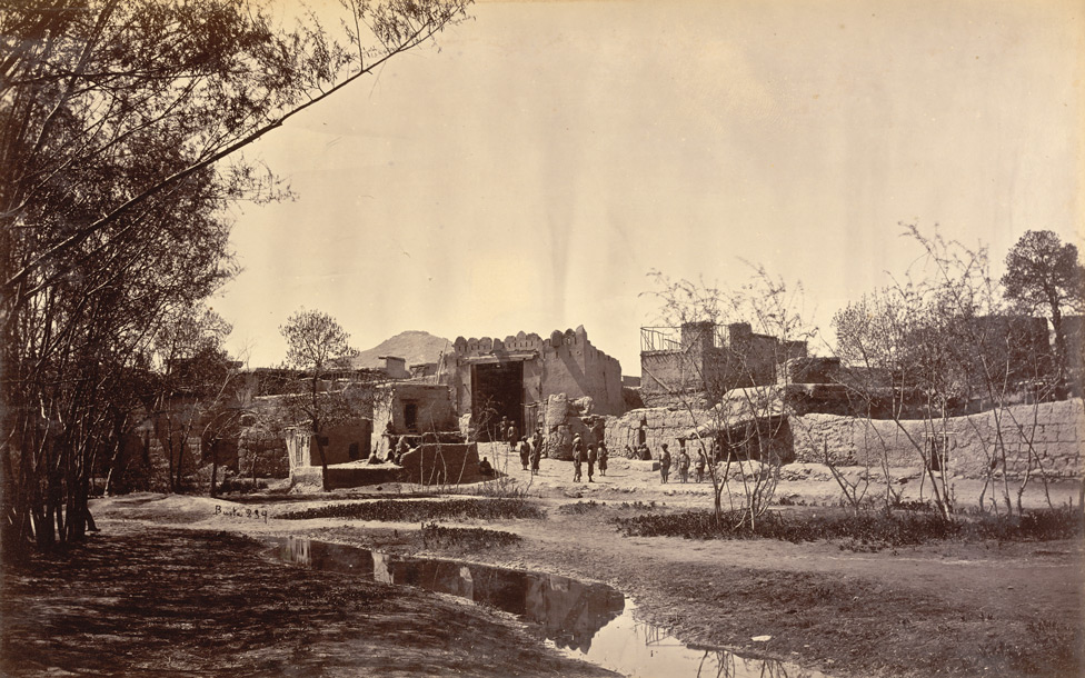 Lahore Gate of City [Kabul].
